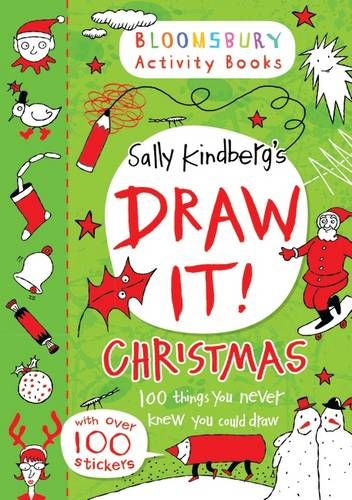 Draw It: Christmas (Bloomsbury Activity Books), Sally Kindberg, Excellent